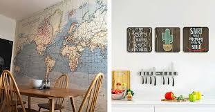 inexpensive kitchen wall decoration ideas