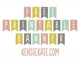 17 Best ideas about Free Printable Banner on Pinterest | Printable ...