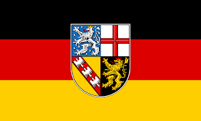 The saarland is a small federal state of germany, located in the west of the country and forming part of the german border with france and luxembourg. File Flag Of Saarland Svg Wikimedia Commons