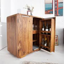 Design Bar Cabinet Havanna Sheesham 39x355x195