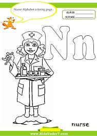 N Alphabet Coloring Pages Of Adult Letter Educations Nest Free ...