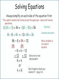 solving equations with variables on both sides worksheet two variable worksheets samsungblueearth a fractions free step