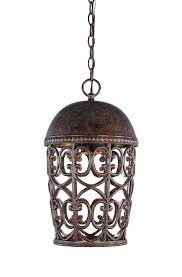 wrought iron outdoor hanging lights