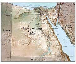 خرائط مصرية