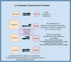 Le Chatelier S Principle Chart Learning Chemistry Easily Le Chateliers Principle