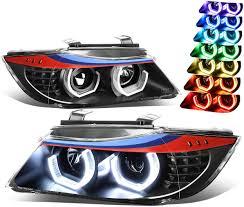 Amazon Com For Bmw E90 3 Series Sedan Halo Projector M