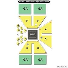 Grand Event Center Seating Chart Grand Casino Hinckley Concert Seating Chart Casino Vietnam