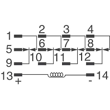 khau 17d12 12 te connectivity potter brumfield relays relays kh serieskh series sidekh series circuit