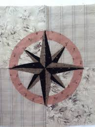 Nautical Tumble Block 13 - Compass Rose - Lyn Brown's Quilting Blog & NT Old Barney Adamdwight.com