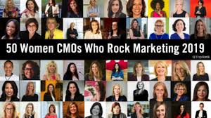 10 Years of Women Who Rock Marketing - 50 Female CMOs to Follow 2019