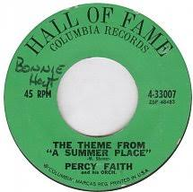 45cat percy faith and his orchestra the theme from a summer place the song from moulin rouge where is your heart columbia hall of fame usa