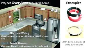 Under cabinet led lighting installation Custom Kitchen Hardwired Under Cabinet Led Lighting Install Hard Wired Lights With Regard To Installing Video Simple Light Activeescapes Hardwired Under Cabinet Led Lighting Activeescapes