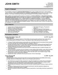 Flight Attendant Resume Template Free Resume Templates 2018