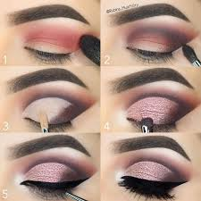 stepbystep motivescosmetics eyeshadows in winter nights on the crease vino on the