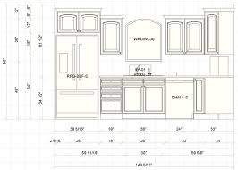 Standard Size Kitchen Cabinets Remarkable Kitchen Cabinets Dimensions Intended For Kitchen