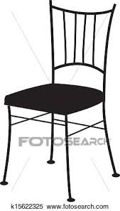 dining chair clipart. Interesting Chair Clipart  Dining Chair Fotosearch Search Clip Art Illustration Murals  Drawings And To Dining Chair C