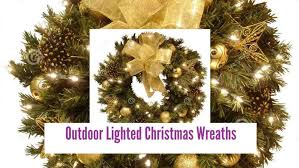 diy outdoor lighted wreaths wreath maxresdefault 48 inch cordless artificial 60 large on