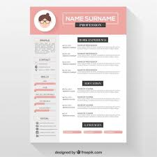 Template Creative Cv Template Free Download Resume