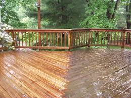 power washing deck. Unique Deck Power Washing Cedar Deck Throughout