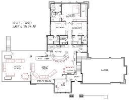 Split Level House Plans Tri Level Home Floor Designs   Car GarageCustom Prairie Style Split Level Home bedroom bath Screen Porch Attic Car Garage