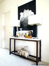 hallway entry table. Narrow Hallway Entry Ideas Console Hall Tables Best Decorating Table