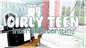 Sims 3 Bedroom Decor The Sims 3 Interior Decorating Girly Teen Bedroom Youtube