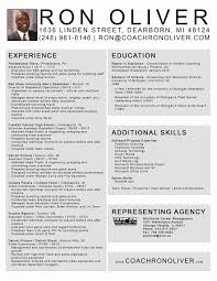 Soccer Coach Resume Example Soccer Coach Resume Example Inspirational Soccer Player Resume 12
