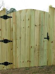 privacy fence gate wooden privacy fence gates fences outdoor living in dog eared wood fence gate