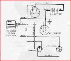 identify diagram alternator wiring pic delco remy alternator wiring diagram on transistor voltage regulator and ammeter here s the wiring diagram
