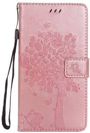 tienjueshi gold book stand tree style flip leather case cover skin etui wallet for huawei ascend mate 7