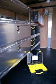 tool trailer organization ideas awesome enclosed trailer shelving amp storage ranger design shelving for enclosed trailers