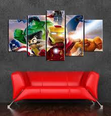 Marvel Superhero Bedroom Popular Marvel Art Canvas Buy Cheap Marvel Art Canvas Lots From