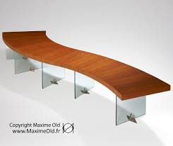 modern art furniture. Coffee-Side Tables: Maxime Old Paquebot France Wave Table Modern Art Furniture E