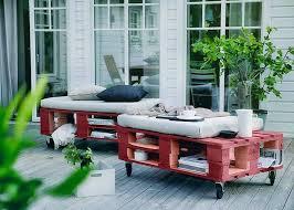 diy pallet garden furniture project 01