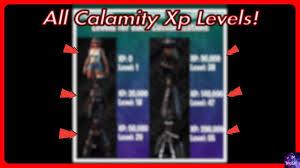 Calamity Skin Xp To Levels Xp Milestone Converter