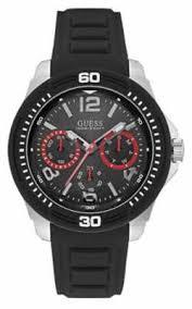 guess mens caliber sport black watch w0864g2 guess mens t black strap black dial w0967g1