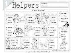 community helpers grade 1 worksheets