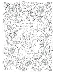Christian Coloring Pages Christian Coloring Pages With Verses Bible
