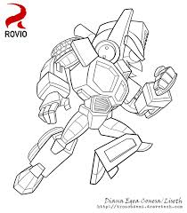 Small Picture Angry Bird Transformers Coloring Pages Virtrencom