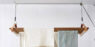 how to make a diy hanging drying rack