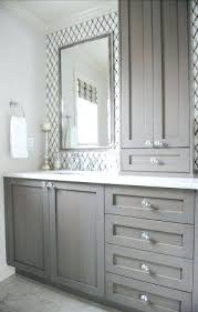 bathroom vanity and linen cabinet. Bathroom Vanity Linen Cabinet With Attached And N