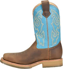 Light Brown Square Boots 12 In Domestic Wide Square Steel Toe Ice Roper