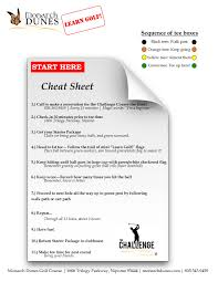 golf club distance cheat sheet monarch dunes golf club