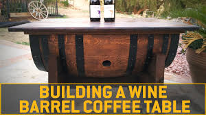 wine barrell furniture. How To Build A Wine Barrel Coffee Table Barrell Furniture