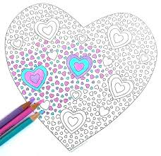 Valentines Hearts Coloring Pages Hearts Coloring Pages Hearts