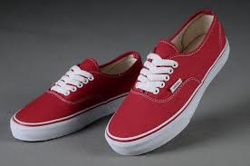 vans red and white. vans authentic classic red white mens shoes and