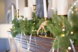 Christmas Decorating Christmas Decorating Ideas For A Rustic Glam Mantel