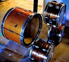 6 drum chandelier
