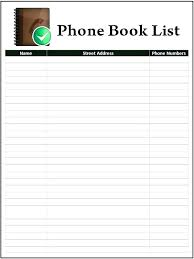 Contact List Spreadsheet Template 6 Free Sample Staff Contact List Templates Employee Template
