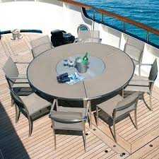 round metal patio table awesome round patio table seats 8 dining room furniture 8 seat patio